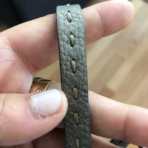 Fendi Jewelry - Fendi selleria leather bracelet